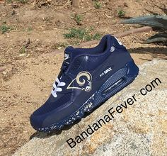 "037ae220d38 BandanaFever.com on Instagram  ""LA 🌌🌌🌌 This shoes and many others on our  website...link in bio. . Like + Tag a Rams fan!"