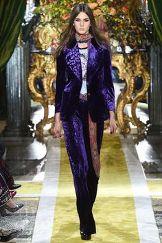 Roberto Cavalli Fall 2016 Ready-to-Wear Fashion Show - Anna Andersson