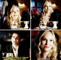 #Tvd #7x11 - After Bonnie did the spell to bring me out of the stone, all I wanted to do is get back to normal with Caroline.
