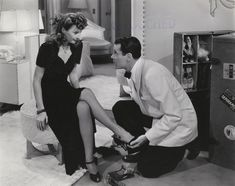 Barbara Stanwyck & Henry Fonda - The Lady Eve - directed by Preston Sturges, 1941