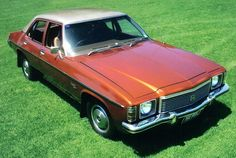 Holden HJ Kingswood 1975 - manufactured by General Motors Holden from around 1968 - 1984, the Holden Kingswood was an icon and a showpiece of 1970's Australia.