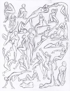 drawing poses | Figure drawing studies - poses by *NeoLupeTrooper9893 on deviantART by Krista.S