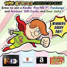 Super SOUR JACK Instant Win Game #iwg #win