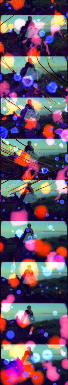 Dawn Surf Jellybowl Filmstrip 1 : SELECTED WORKS BY JENNIFER WES