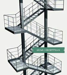 pekanbaruteknik – A great WordPress.com site Railing Design, Gate Design, Staircase Design, Steel Stairs, Steel Railing, Structural Steel Beams, Stair Elevator, Staircase Handrail, Steel Structure Buildings