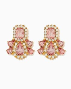 charming charlie | Princess for a Day Stud Earrings | UPC: 400000240756 #charmingcharlie Trendy Collection, Style Inspiration, Style Ideas, Handbag Accessories, Fashion Brand, Rose Quartz, Jewelry Box, Dangle Earrings, Studs