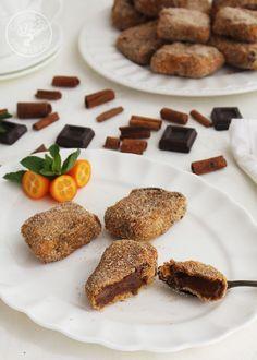 Cómo hacer Leche frita de chocolate y leche condensada - Cocinando Entre Olivos A Food, French Toast, Beef, Cookies, Breakfast, Desserts, Chocolate Desserts, Easy Recipes, Cup Cakes