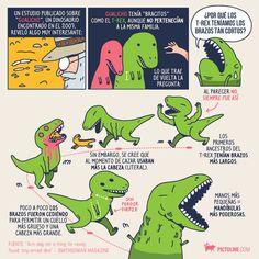 Seguro de niño te lo preguntaste (o te lo sigues preguntando): ¿por qué los T-Rex tenían esos bracitos?