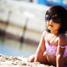 Super model on the beach Alexandria Egypt