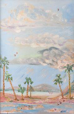 Palmiyeler, 40x60, oil&canvas, #palmtrees #gurseltokmakoglu #artist #artworks #art #sanat #paint #tablo #painting #yağlıboya #oiloncanvas #plain #landscape #paintings  #finearts #paintworks #original #oilpaintings #paintings #fineart #gallery #paintworks #original #impressionism