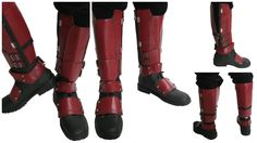 Dead Cosplay Pool Shoes PU Adult Side Zipper Covers Knee High Boots 41 * You can get additional details at Costume Deadpool, Deadpool Art, Hero Costumes, Cosplay Costumes, Cosplay Ideas, Pool Shoes, Men's Shoes, Fantasy Costumes, Halloween Accessories