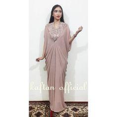 Image may contain: 1 person Batik Dress, Floral Maxi Dress, Kaftan Modern, Ladies Evening Wear, Kaftan Pattern, Kaftan Gown, Fantasy Gowns, Prom Dresses With Sleeves, Draped Dress