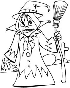 dora coloring pages halloween goblin - photo#26