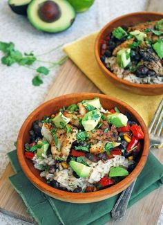 Fish Taco Bowls recipe and The Greatest Quick and Healthy Recipes Ever!