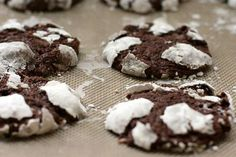 Get the recipe: chocolate crinkle cookies. - POPSUGAR Photography / Anna Monette Roberts