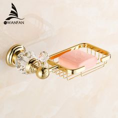 Euro style Crystal & Brass Gold Bathroom Accessories Soap Dishes / Soap Holder/Soap Case home decoration    HK-30 - ICON2 Luxury Designer Fixures  Euro #style #Crystal #& #Brass #Gold #Bathroom #Accessories #Soap #Dishes #/ #Soap #Holder/Soap #Case #home #decoration # # # #HK-30