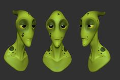 ArtStation - Alien Sketches, Kevin Xhuti