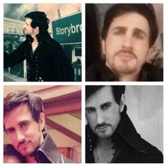 Colin O Donoghue's look alike collage