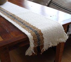 woven table runner