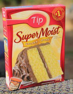 Cake Tip & How To Make A Boxed Cake Mix Taste Homemade | Cake mixes Homemade ... Aboutintivar.Com
