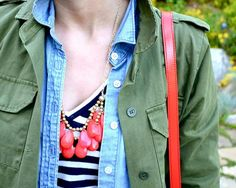 7 - how to wear chambray <<<Pink Avenue