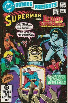 DC Comics Presents Vol. 5 No. 43 1982 Superman and the Legion of Super-Heroes by TheSamAntics