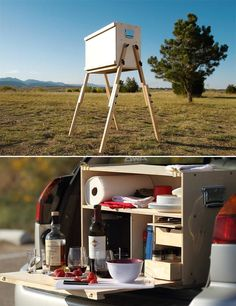 Perfect for car camping or tailgating parties. Get it here.