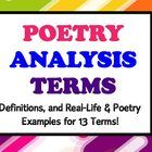 This presentation is a must-have for anyone starting a poetry unit!  It goes over the most frequently used figures of speech, literary devices, and...