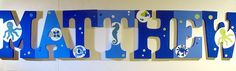 Bubbles Wall letters