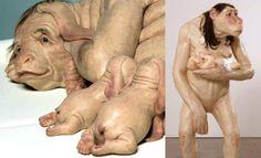 30 esculturas de Patricia Piccinini...  30 Most Controversial Art Sculptures by Patricia Piccinini. Read full article: http://webneel.com/webneel/blog/most-controversial-art-sculptures-patricia-piccinini-30-sculptures | more http://webneel.com/sculptures | Follow us www.pinterest.com/webneel