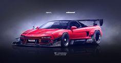 Honda NSX Inbound racer V2 by yasiddesign on DeviantArt