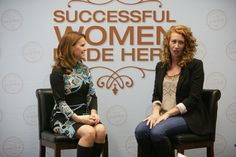 Sheryl Matthys of Successful Women Made Here with speaker Ambre Crocket of Ambre Blends
