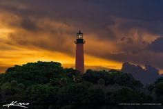 https://flic.kr/p/KuKgy9 | Red Lighthouse Sunset Jupiter Florida | Sunset over the Jupiter Lighthouse in Palm Beach County Florida taken from Dubois Park at the Inlet. HDR image created using Aurora HDR software by Macphun. captainkimo.com/red-lighthouse-sunset-jupiter-florida/ #LoveFL #Jupiter #Florida #Lighthouse #CaptainKimo #AuroraHDR