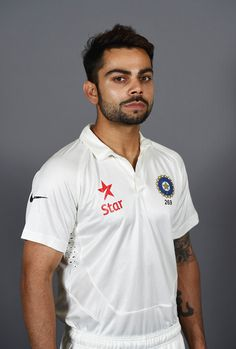"""First, let the weight of his name sink in. Repeat after me: """"Virat Kohli."""" It literally means """"brilliant"""" in Sanskrit.   16 Convenient Excuses To Stare At The Unbelievably Sexy Virat Kohli"""
