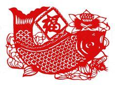 Chinese Papercut Patterns | Paper-Cut (003) - China Folk Art, Handcraft