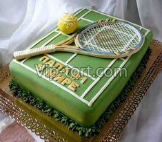 Торт теннис большой