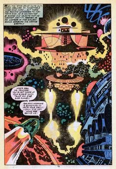 From 2001: a Space Odyssey by Jack Kirby.