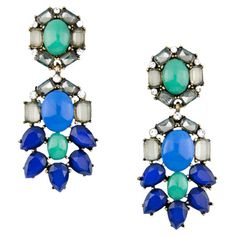 Blue Baubles Chandelier Earrings at Joss and Main