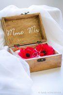 Sandy Kohlmayer Photos V & M mariage coquelicot moules-4