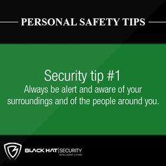 Personal Safety Tips . Do not respond to conversation from strangers on the street. Security Tips, Security Alarm, Safety And Security, Home Security Systems, Home Protection, Personal Safety, Home Safes, Alarm System, Safety Tips