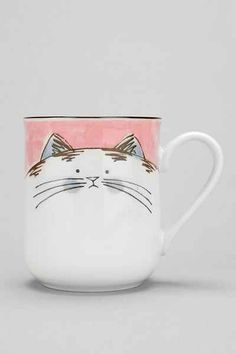awwww...happy cat #cute #mug