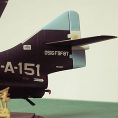 my 1 48 scale model form the Grumman Cougar, 1 48 scale, detail