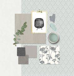 Amazing small furnished apartments - Home Fashion Trend Interior Design Advice, Interior Design Boards, Office Interior Design, Botanical Interior, Nordic Bedroom, Mood Board Interior, Colorful Apartment, Material Board, Mood And Tone