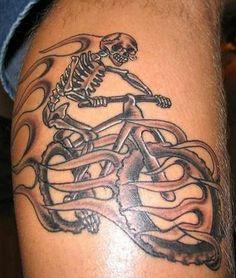 Mountain #Bike #Tattoo