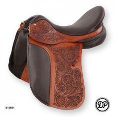 tooled dressage saddle - Google Search