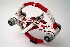 Hyperdrive Transport Ring . Starwars like craft. #lego