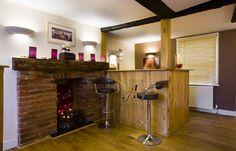 Open fire at Atelia Salon & Spa, Hertfordshire