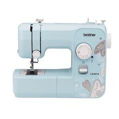 Brother Lx3817a 17 Stitch Full Size Aqua Sewing Machine Walmart Com In 2020 Brother Sewing Machines Sewing Machine Sewing