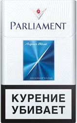 Parliament Aqua Blue МРЦ99руб. Пачка55руб.