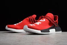 217877e6e Pharrell x adidas NMD Human Race Red Footwear White-Black BB0616